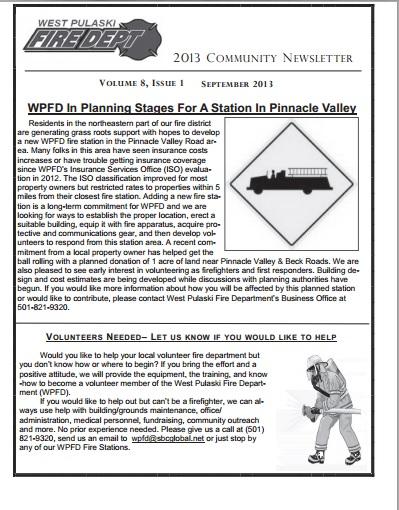 2013 newsletter image