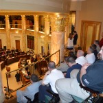 Gallery view of the House floor