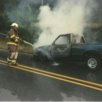 Vehicle Fire Burlingame Rd.