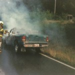 Vehicle Fire Burlingame Rd