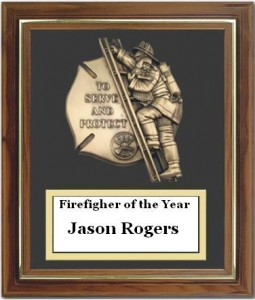 yFirefighter of the  year 2009
