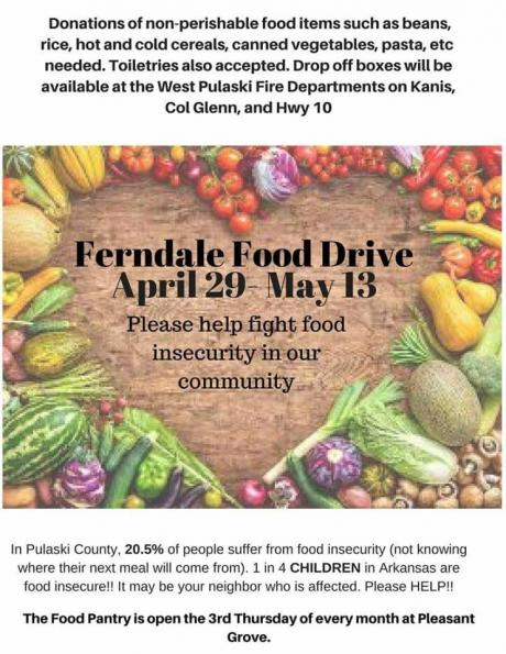 Ferndale Food Pantry - Donation Drive