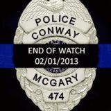 In Memory of Conway Police Officer William McGary