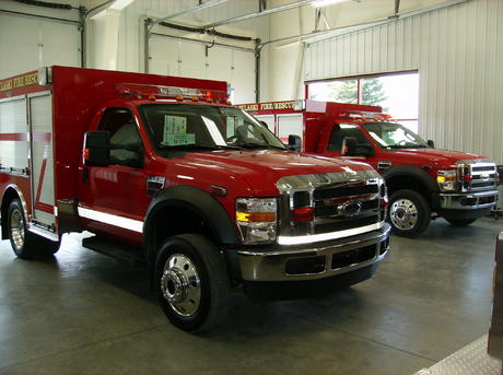 New Rescue Vehicles now in service for Hwy 10 and Little Italy Stations