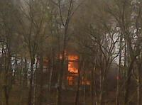 WPFD and Lake Maumelle FD Fight Structure Fire on Jones Rd.